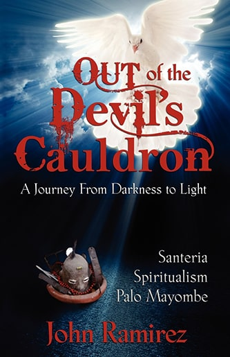 Out of the devils cauldron book cover